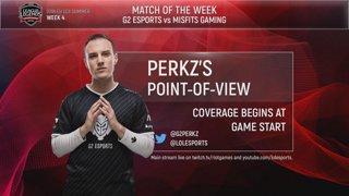 EU LCS POV Stream: G2 Perkz