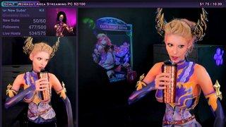 4/6 🔴 Sponsored Shadowverse Dark Angel Olivia Bodypaint 🔴 painting beauty makeup beauty cosplay body paint