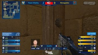 RERUN: CS:GO - Renegades vs. Vitality [Mirage] Map 1 - Group B - IEM Chicago 2019