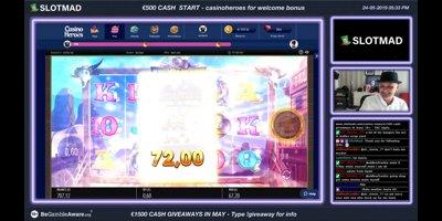 Twitch TV Casino Live Stream on SlotMad com - Online Casino