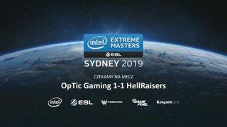 OpTic vs HellRaisers   Zamknięte europejskie kwalifikacje IEM Sydney 2019