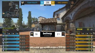CS:GO - Vitality vs. ENCE [Inferno] Map 3 - Group B - ESL One Cologne 2019