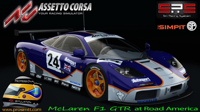 Assetto Corsa - The Simpit McLaren F1 GTR Series @ Road America (Week  2/Race 2)