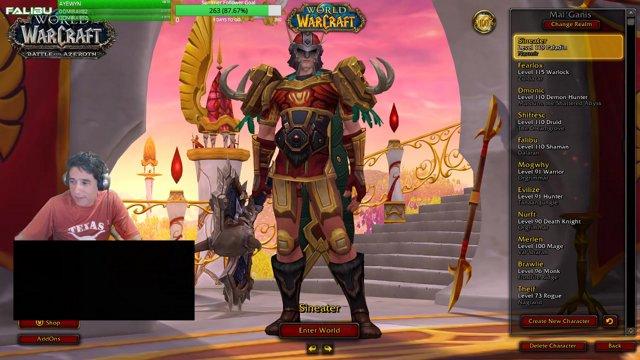 Highlight: World of Warcraft: BFA   Returning Veteran   Ret Paladin PVP    STREAM TEST