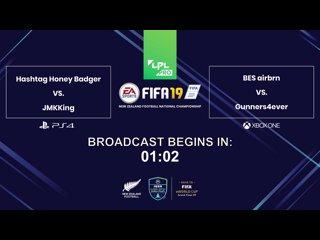 FULL EPISODE: LPL Pro FIFA 19 NZ Football National Championship
