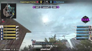 CPH Flames vs. NoChance | Map 1 | Pixel.bet Brawl