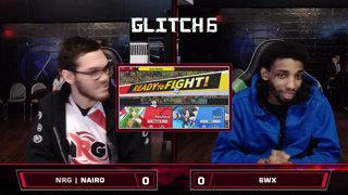 Glitch 6 SSBU - NRG | Nairo (Palutena) VS 6WX (Sonic) Smash Ultimate Winner's Top 128