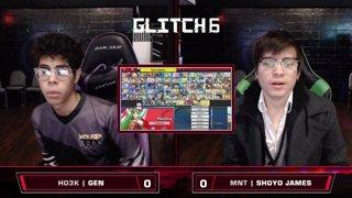 Glitch 6 SSBU - HO3K | Gen (Palutena) VS MNT | Shoyo James (Chrom) Smash Ultimate Winner's Top 128