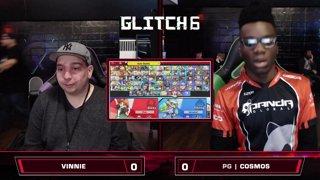 Glitch 6 SSBU - Vinnie (Daisy) VS PG | Cosmos (Inkling) Smash Ultimate Winner's Top 128