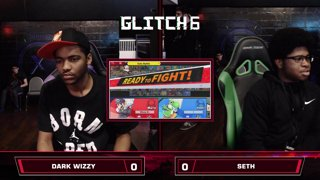 Glitch 6 SSBU - Dark Wizzy (Mario) VS Seth (Yoshi) Smash Ultimate Winner's Top 128