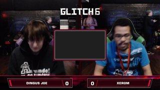 Glitch 6 SSBU - Dingus Joe (Game & Watch) VS Xerom (Ness) Smash Ultimate Loser's Top 48