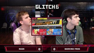 Glitch 6 SSBU - Rags (Pichu) VS Barking_Frog (Inkling) Smash Ultimate Loser's Top 48