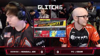 Glitch 6 SSBU - Demise | Seagull Joe (Wolf) VS PG | ESAM (Pikachu) Smash Ultimate Loser's Top 32