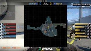 VOD 📽️ ORDER vs Skyfire - BO1 - map: nuke [ESEA MDL Season 30 Australia]