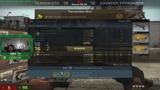 Hiko NO CROSSHAIR ACE dust2 m4a4