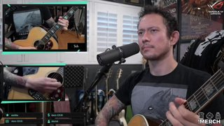 Matt Heafy (Trivium) - Bee Gees - Stayin Alive I Acoustic Cover