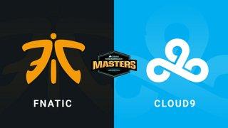 Fnatic vs Cloud9 - Group B - Train - CORSAIR DreamHack Masters Dallas 2019