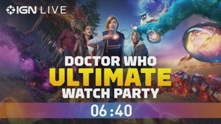 Dr. Who Ultimate Watch Party - IGN Live Presents