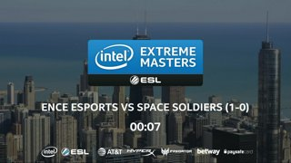 CS:GO - Space Soldiers vs. ENCE [Mirage] Map 2 - UB Ro8 - IEM Chicago 2018 EU Closed Qualifiers