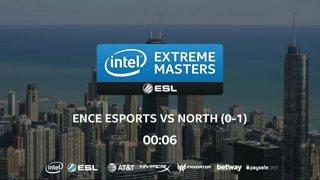 CS:GO - North vs. ENCE [Mirage] Map 2 - UB Ro4 - IEM Chicago 2018 EU Closed Qualifiers