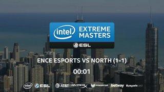 CS:GO - North vs. ENCE [Train] Map 3 - UB Ro4 - IEM Chicago 2018 EU Closed Qualifiers