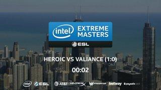 CS:GO - Heroic vs. Valiance [Nuke] Map 2 - LB Ro4 - IEM Chicago 2018 EU Closed Qualifiers