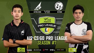 AIS CS:GO Pro League Season#7 R.7 |  Astro vs. Beyond MAP1 OVERPASS