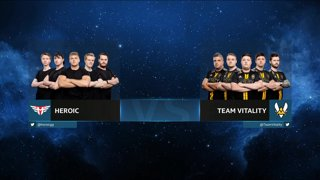 CS:GO - Vitality vs. Heroic [Mirage] Map 1 - Group B - IEM Chicago 2019