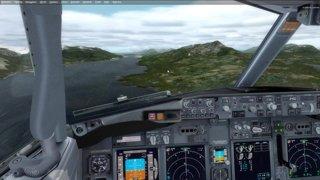 Replays of 737-900 PAKT landing