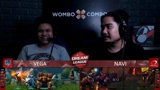 [FIL] Vega vs Navi (BO3) | Game 1 | Dream League Season 10 Minor Group Stage