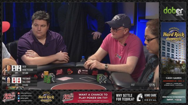 Seminole hard rock poker cash games comment travailler dans un casino de jeux