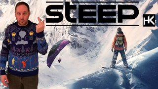 Chill stream.. literally. It's cold. Playing Steep.
