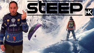 Steep | First Play | Snowboarding T-Rex?!