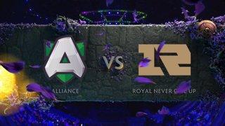 [EN] Alliance vs RNG  BO1 - The International 2019 Main Event