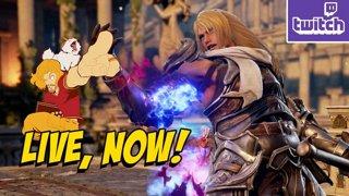 SIEGFRIED...THE RETURN - Soul Calibur VI Online & Rate Souls?! (Thurs 11-8)