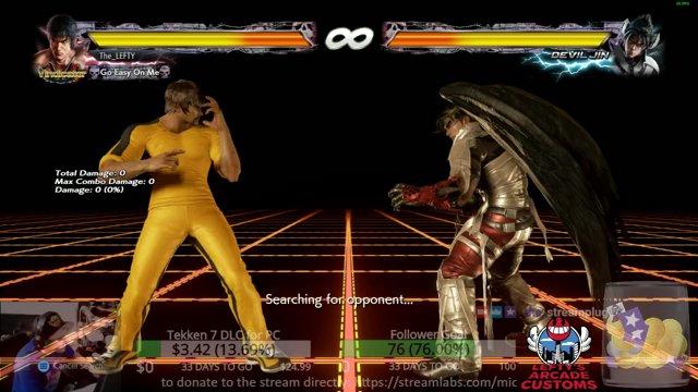 Tekken 7 in the GameRoom