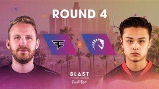 BLAST Pro Series Los Angeles 2019 - Front Row - Round 4 - FaZe Clan Vs. Team Liquid
