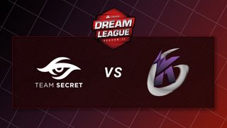 Team Secret vs Keen Gaming - Game 1 - CORSAIR DreamLeague S11 - The Stockholm Major