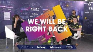 Navi | BLAST Pro Series Madrid - BLAST Backstage