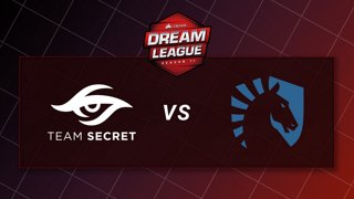Team Secret vs Team Liquid - Game 1 - CORSAIR DreamLeague S11 - The Stockholm Major