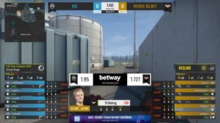 CS:GO - BIG vs. Heroic [Nuke] Map 2 - Group B - ESL One Cologne 2019