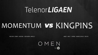 Telenorligaen Høst 2018: CS:GO Runde 3! Momentum vs Kingpins