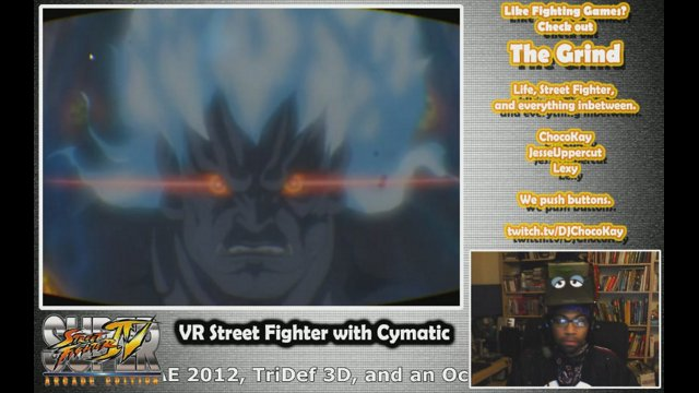 cymaticbruce street fighter 4 tridef 3d and the oculus rift twitch