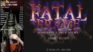 Fatal Frame Any% [PS3] - 1:12:24