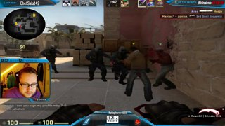 CS:GO - [ENG ] Maniac: ,, Take vision, Mof*****!