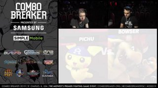 CB 2019 SSBU - Bear (Bowser) Vs. Shaid (Pichu) Smash Ultimate Tournament Pools