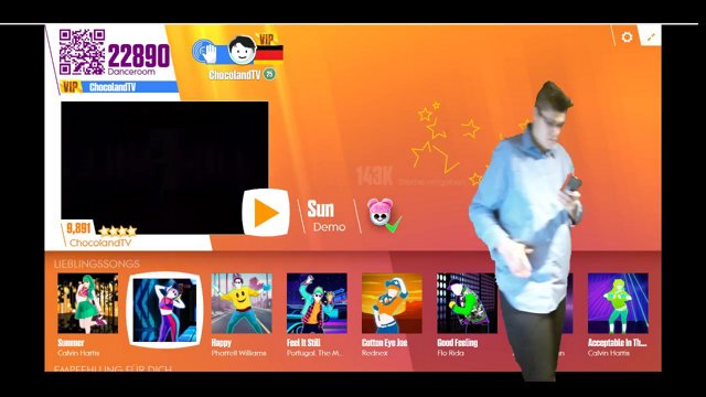 Highlight: Mixed Reality-Just Dance Now - Choose your Favorite Song