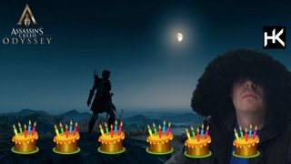 It's my birthday 🥳 Assassin's Creed Odyssey