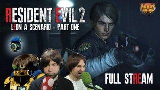 Resident Evil 2 (2019) - Leon A | Original Full Stream [Part 1]