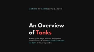 An Overview of Tanks with H2O